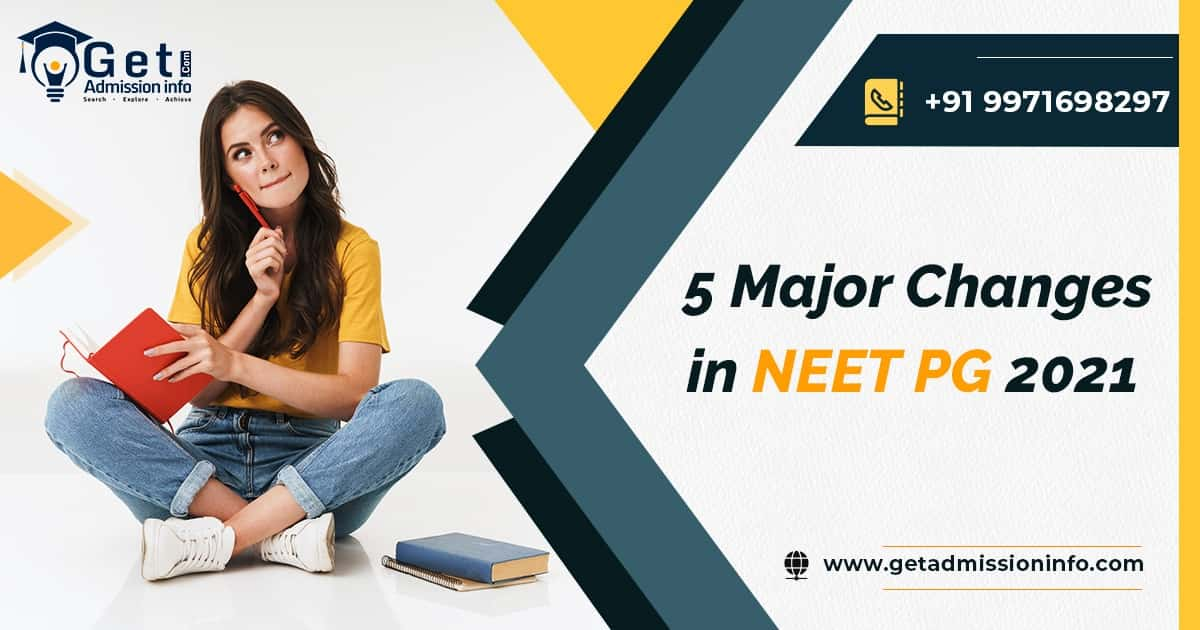 Attention !! 5 Important Changes in NEET PG 2021, Do You Know?