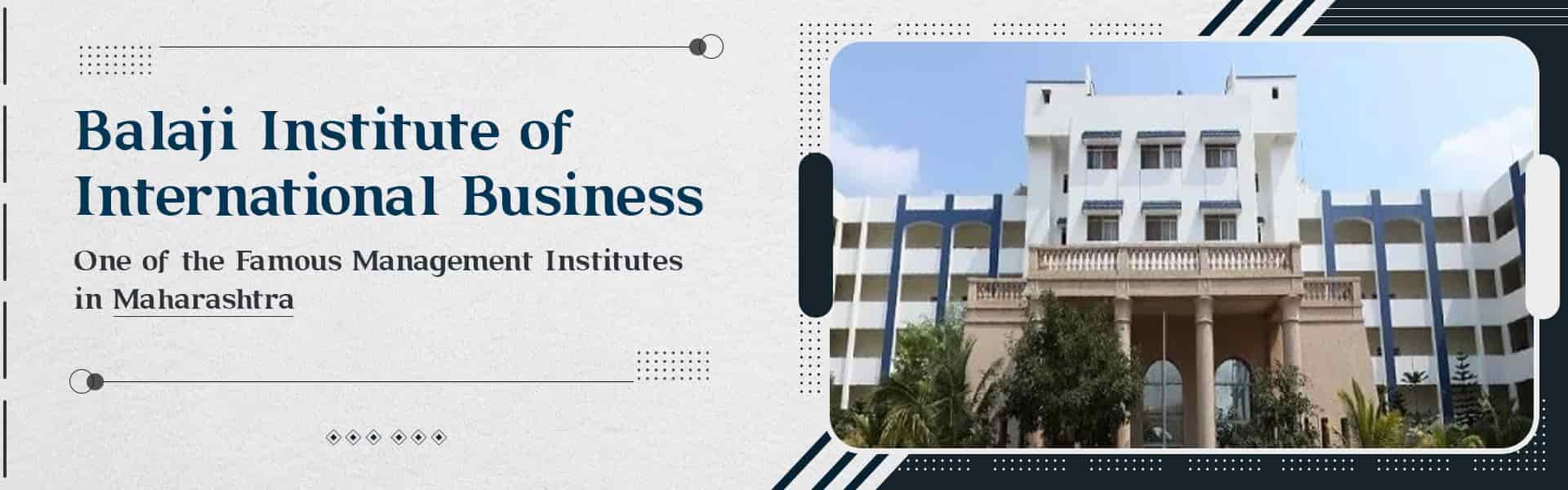 Balaji Institute of International Business (BIIB Pune)