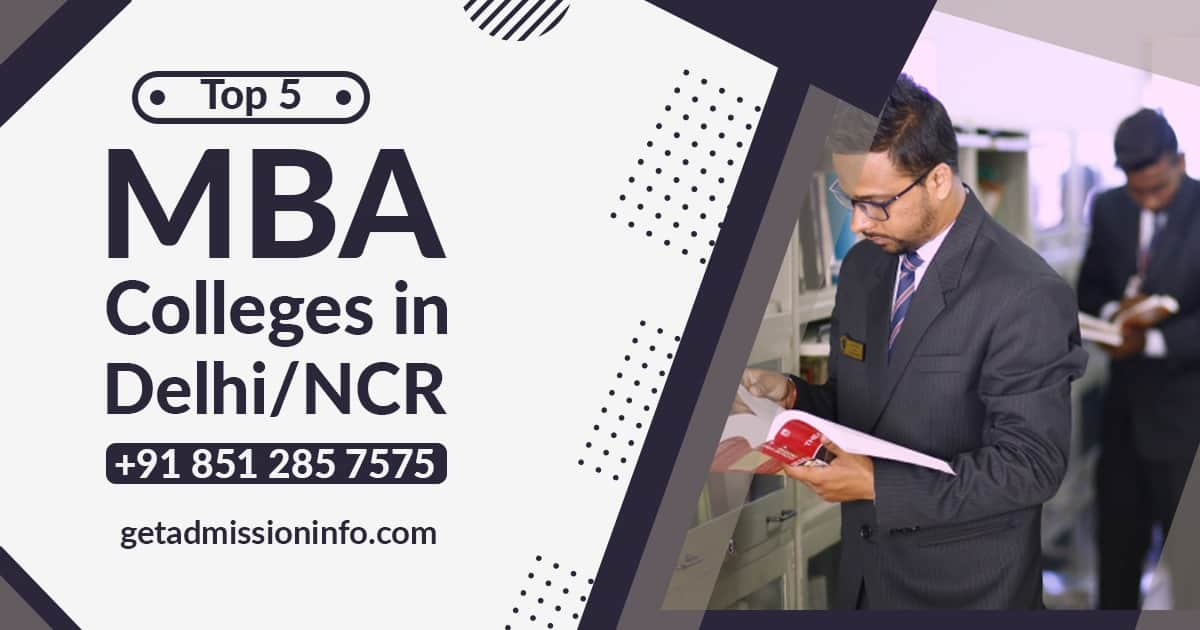 Best Management Colleges in Delhi/NCR | Top MBA Institutes