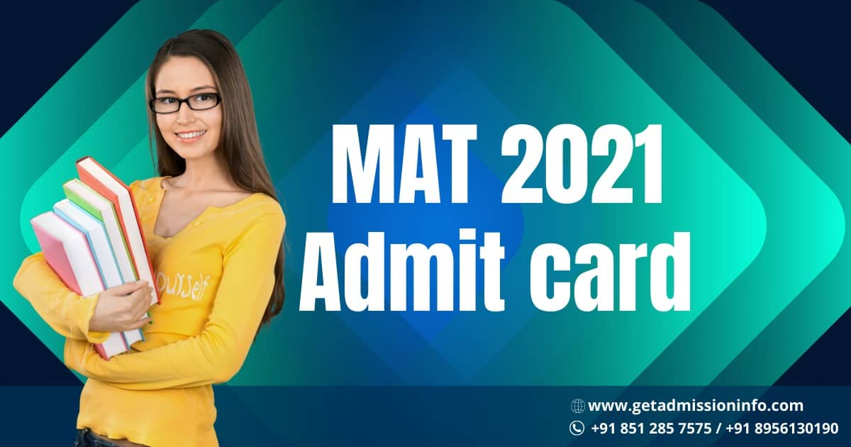 MAT 2021 Admit Card Released by AIMA, Check Here How to Download
